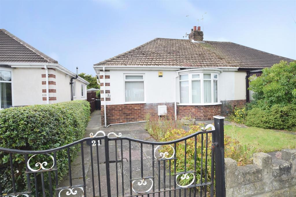 2 Bedrooms Semi Detached Bungalow for sale in Middle Green, West Monkseaton