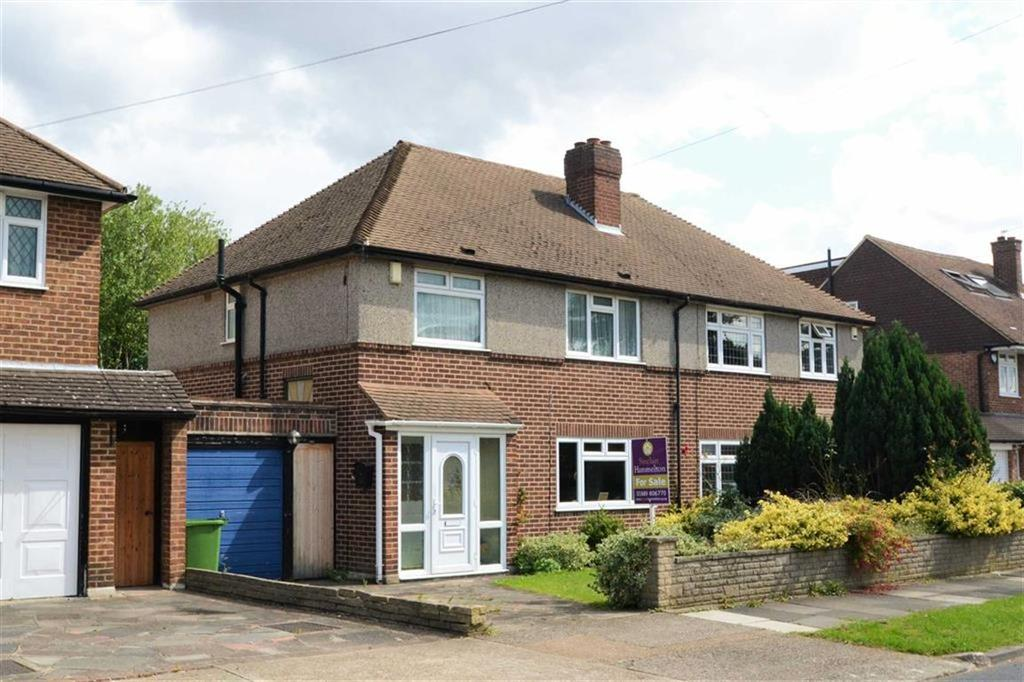 3 Bedrooms Semi Detached House for sale in Homemead Road, Bickley, Kent