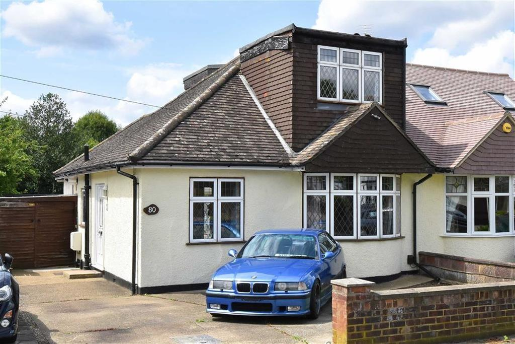 3 Bedrooms Semi Detached Bungalow for sale in Kynaston Road, Orpington, Kent