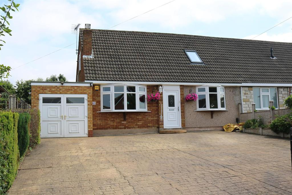 3 Bedrooms Semi Detached Bungalow for sale in Dumolos Lane, Glascote, Tamworth