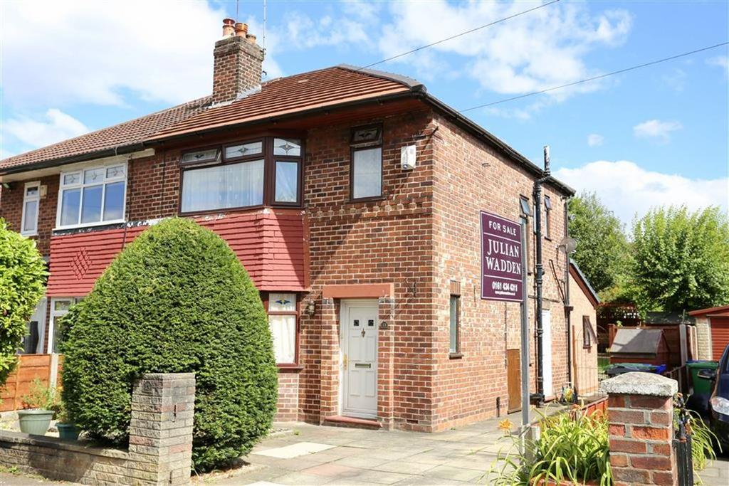 3 Bedrooms Semi Detached House for sale in Broughville Drive, Didsbury, Manchester