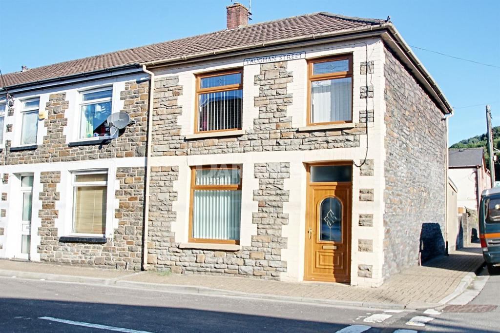 2 Bedrooms End Of Terrace House for sale in Vaughan Street, Pwllgwaun