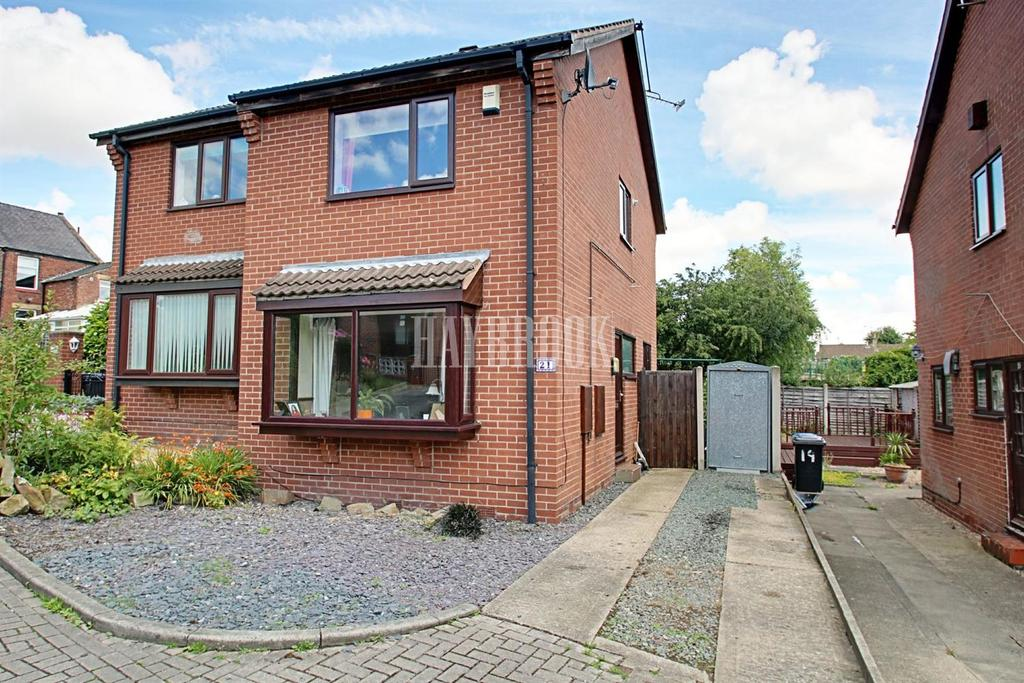 2 Bedrooms Semi Detached House for sale in Ashwell Road, Woodhouse