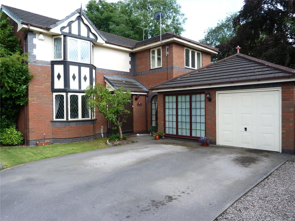 4 Bedrooms Detached House for sale in Mill Bridge Close, Crewe, Cheshire, CW1