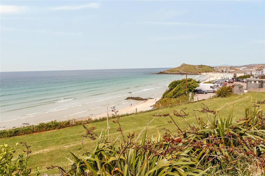 4 Bedrooms Semi Detached House for sale in Beach Road, St. Ives, Cornwall
