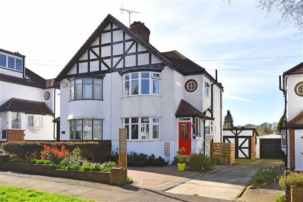 3 Bedrooms Semi Detached House for sale in Birch Tree Avenue, West Wickham, Kent
