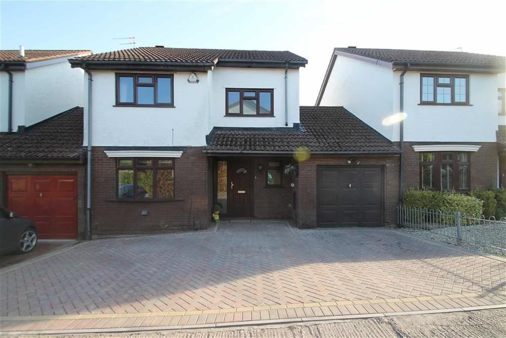 3 Bedrooms Link Detached House for sale in Vaindre Drive, St Mellons, Cardiff