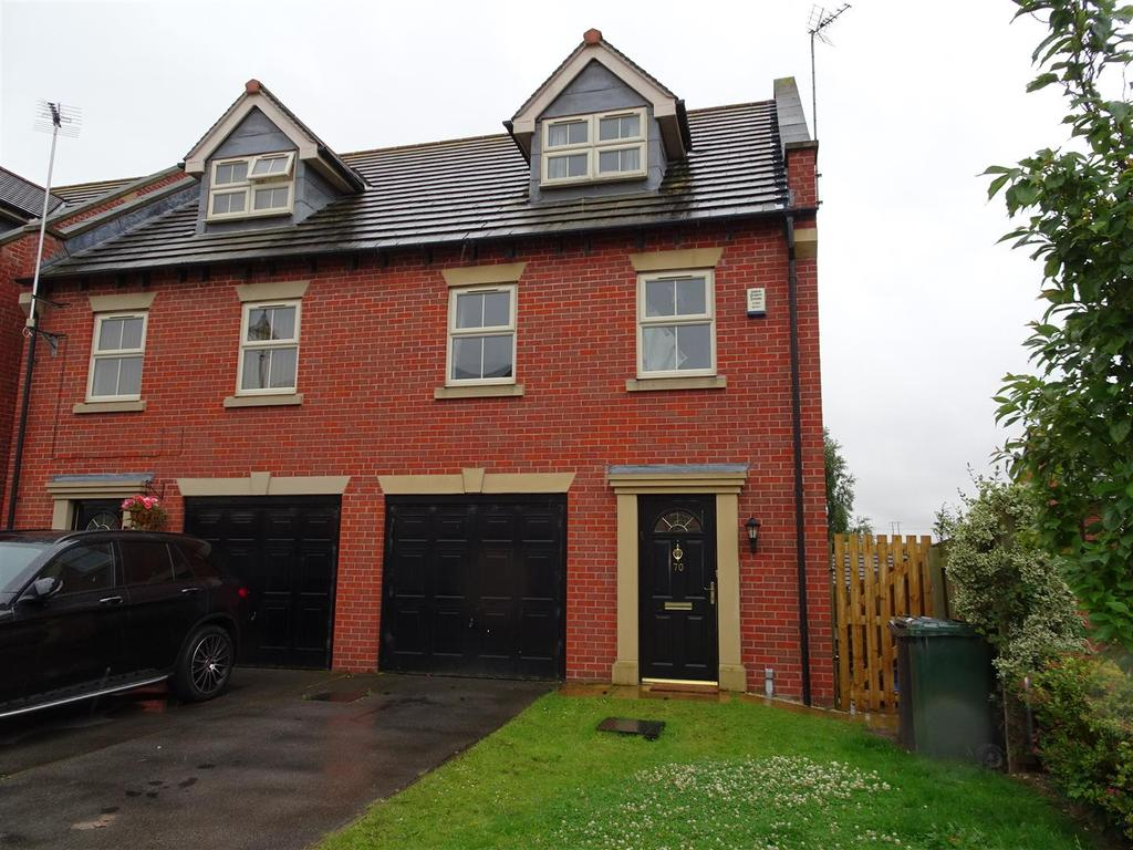 3 Bedrooms Semi Detached House for sale in 70 Bridgewater Way, Ravenfield, Rotherham, S65 4GH