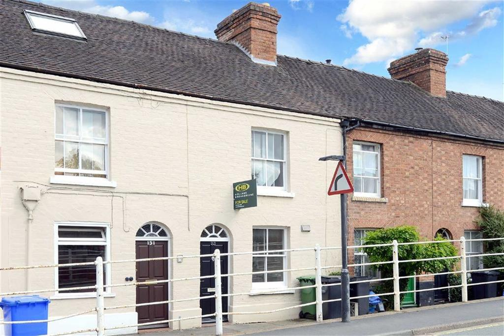 3 Bedrooms Terraced House for sale in Belle Vue Road, Belle Vue, Shrewsbury, Shropshire