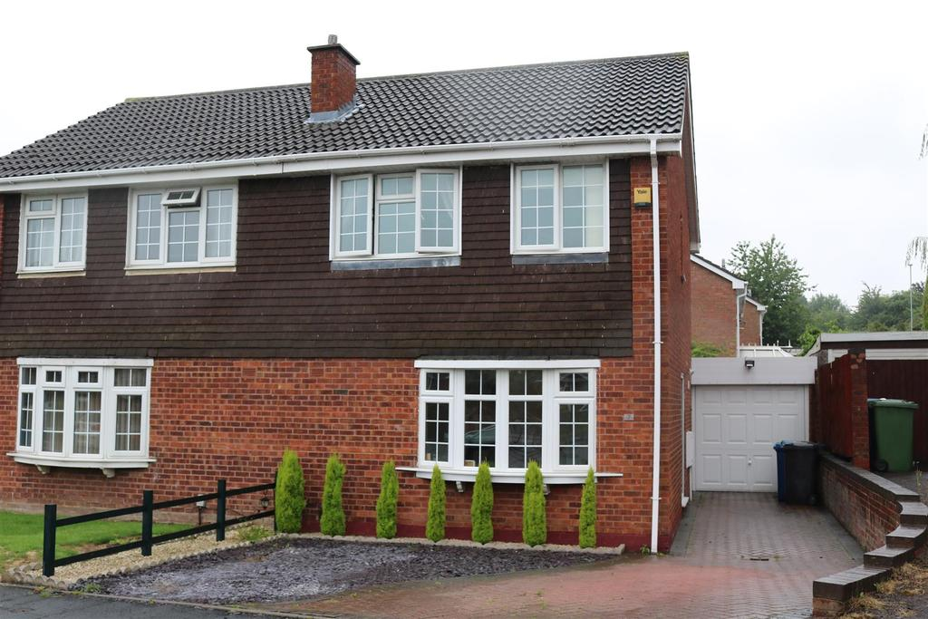 3 Bedrooms Semi Detached House for sale in Tanhill, Wilnecote, Tamworth