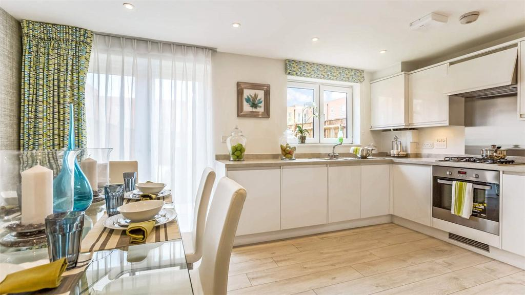 3 Bedrooms Terraced House for sale in Meridian Waterside, Southampton, SO14