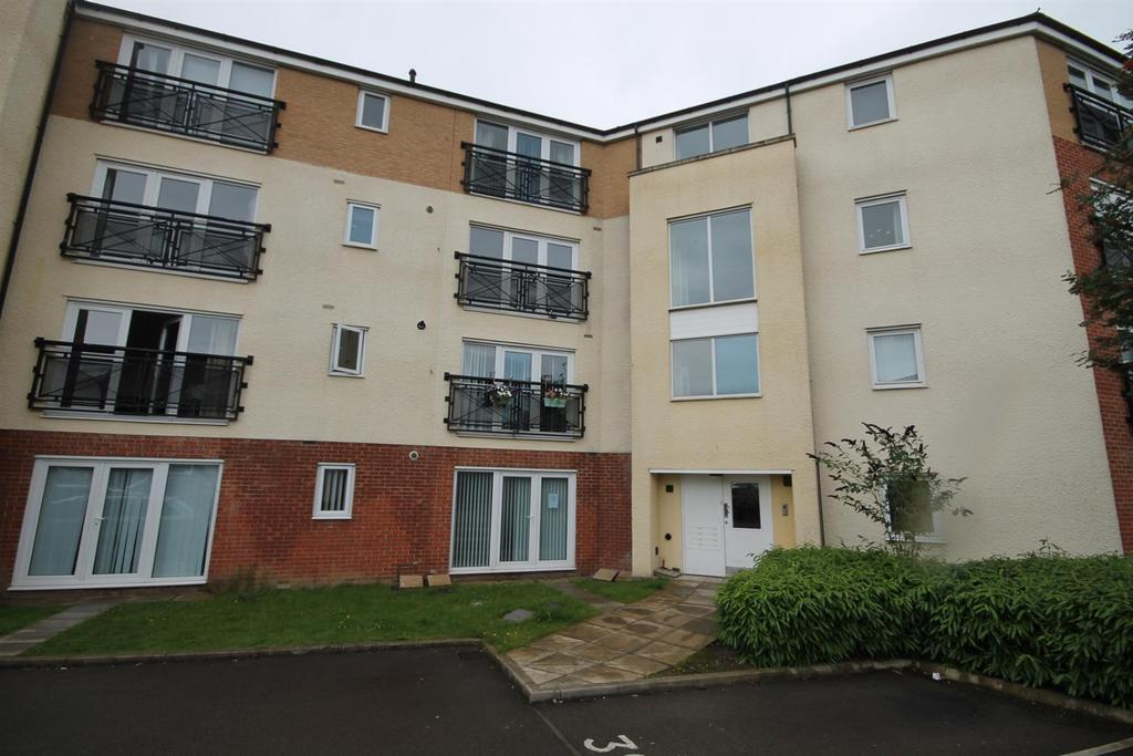 2 Bedrooms Flat for sale in Brusselton Court, Stockton-On-Tees