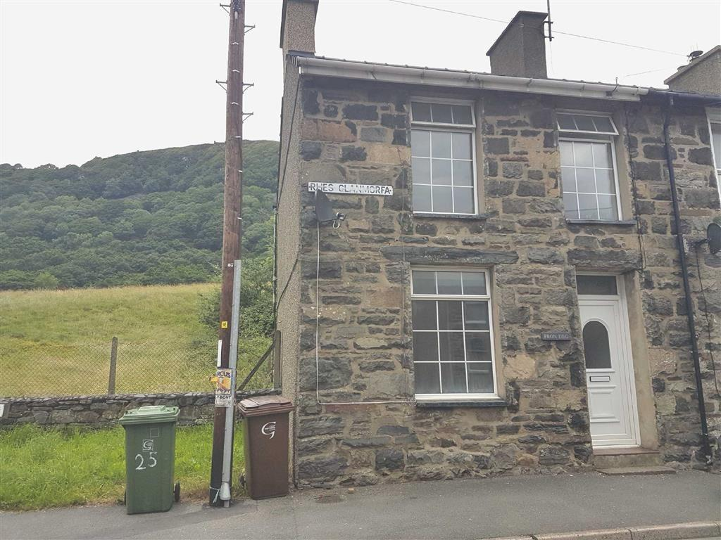 2 Bedrooms End Of Terrace House for sale in Glanmorfa Terrace, Tremadog