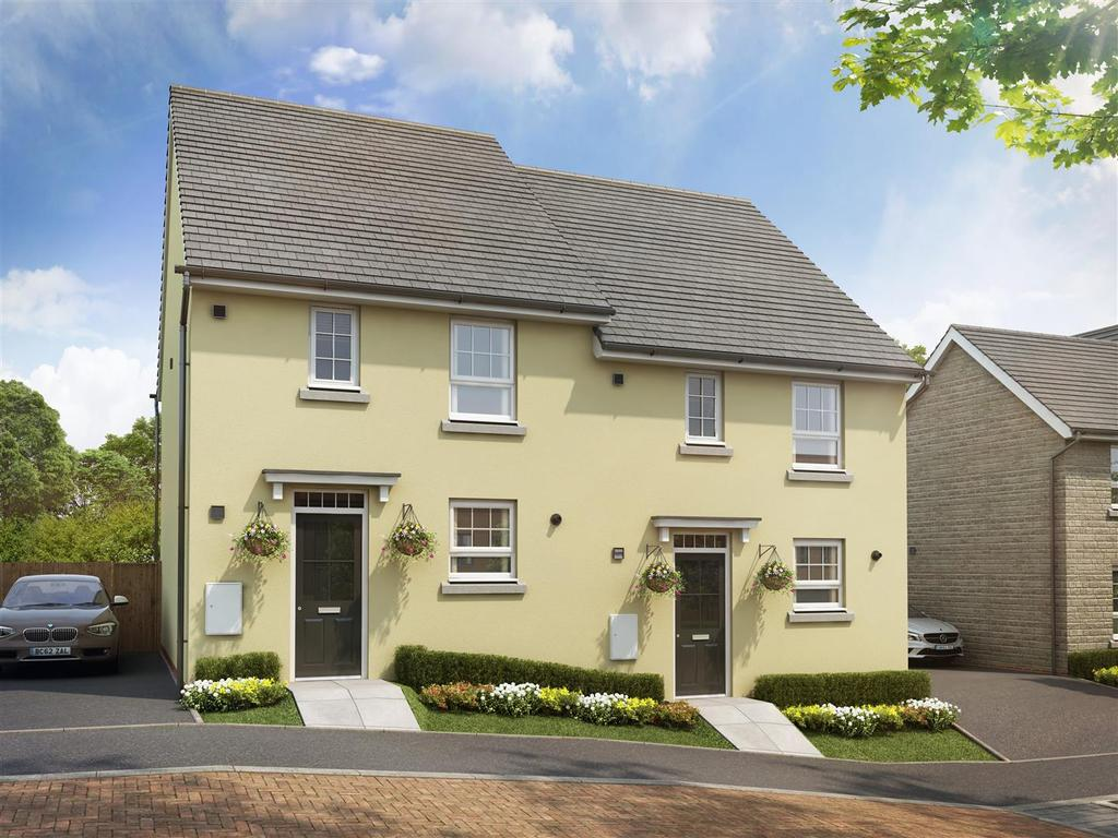 3 Bedrooms Semi Detached House for sale in Plot 228, Saxon Fields, Cullompton