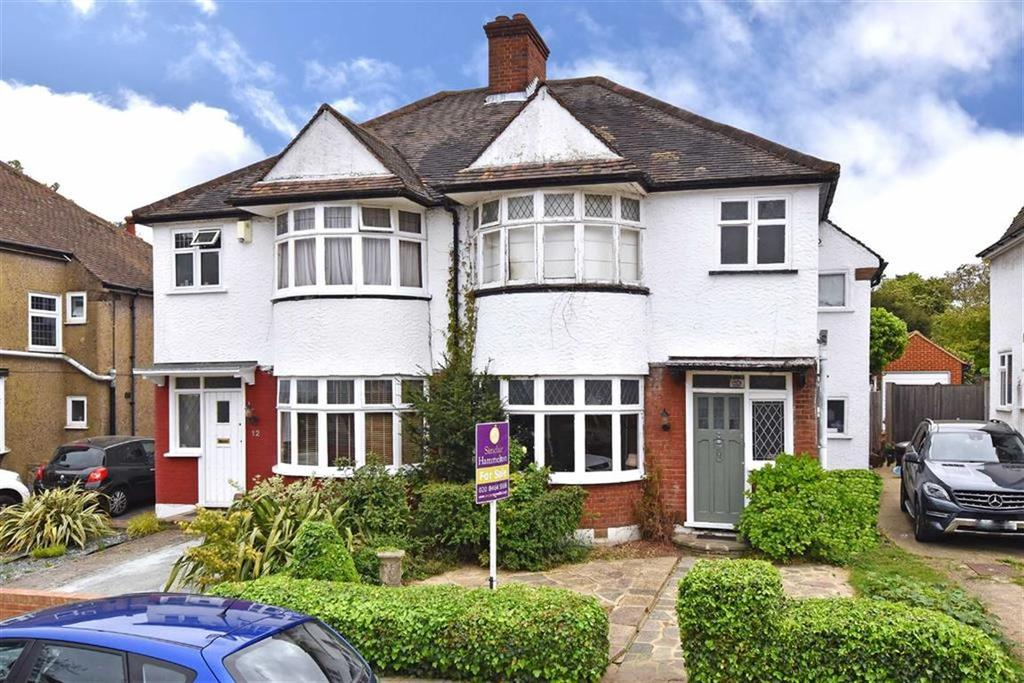 3 Bedrooms Semi Detached House for sale in Glenview Road, Bromley, Kent