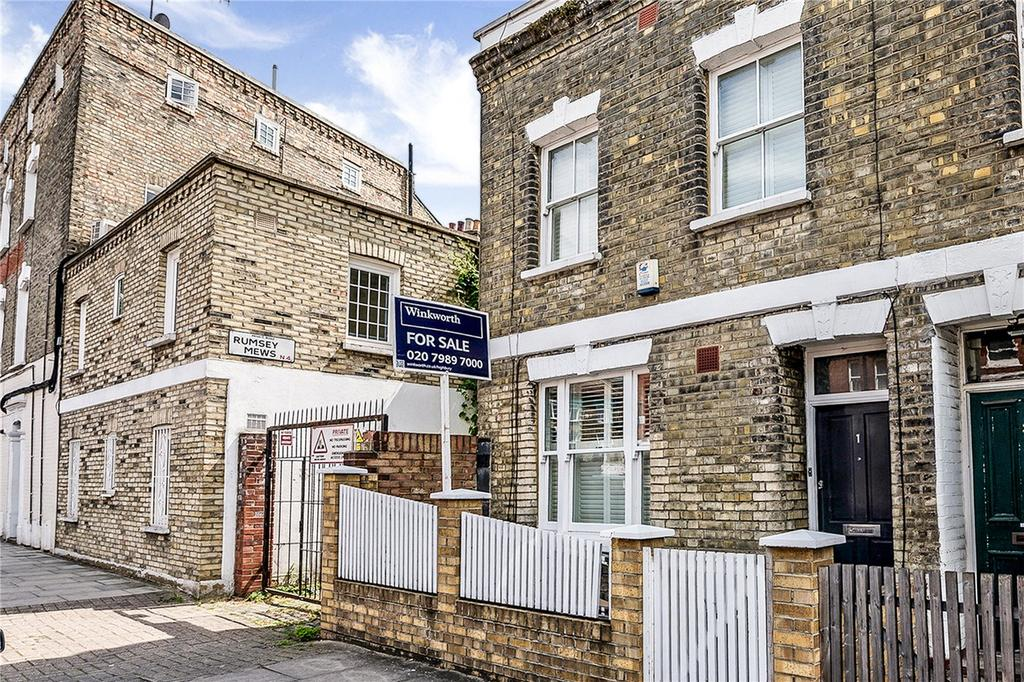 3 Bedrooms End Of Terrace House for sale in Monsell Road, Highbury, N4