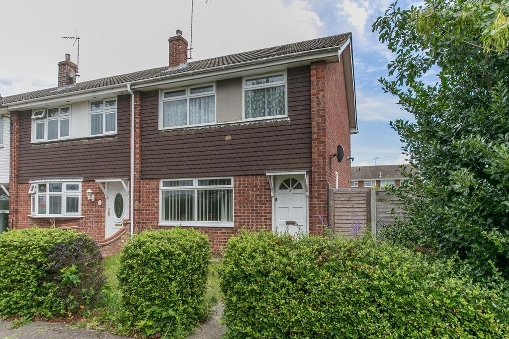 3 Bedrooms End Of Terrace House for sale in Crosstree Walk, Colchester, Essex, CO2