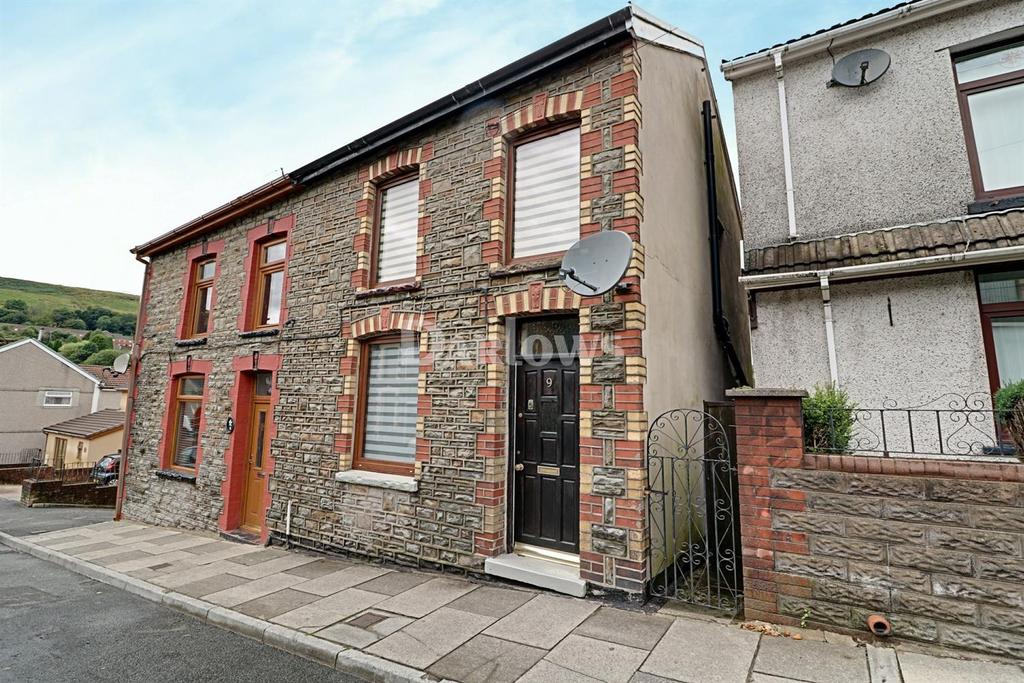 2 Bedrooms Semi Detached House for sale in Library Rd, Penygraig