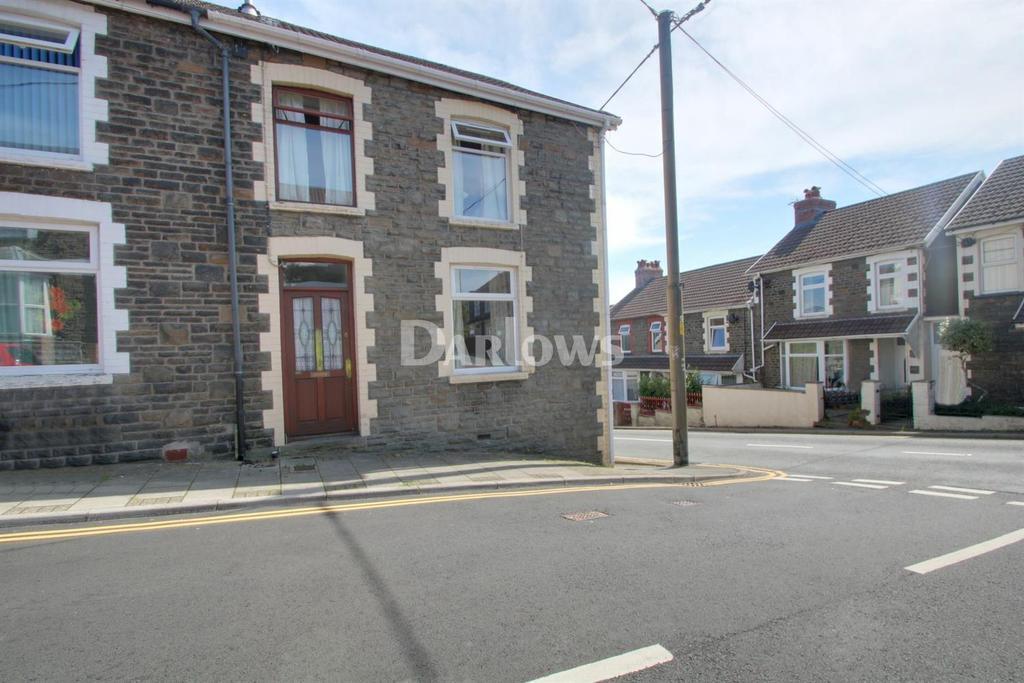 3 Bedrooms End Of Terrace House for sale in Pencerrig Street, Graigwen, Pontypridd