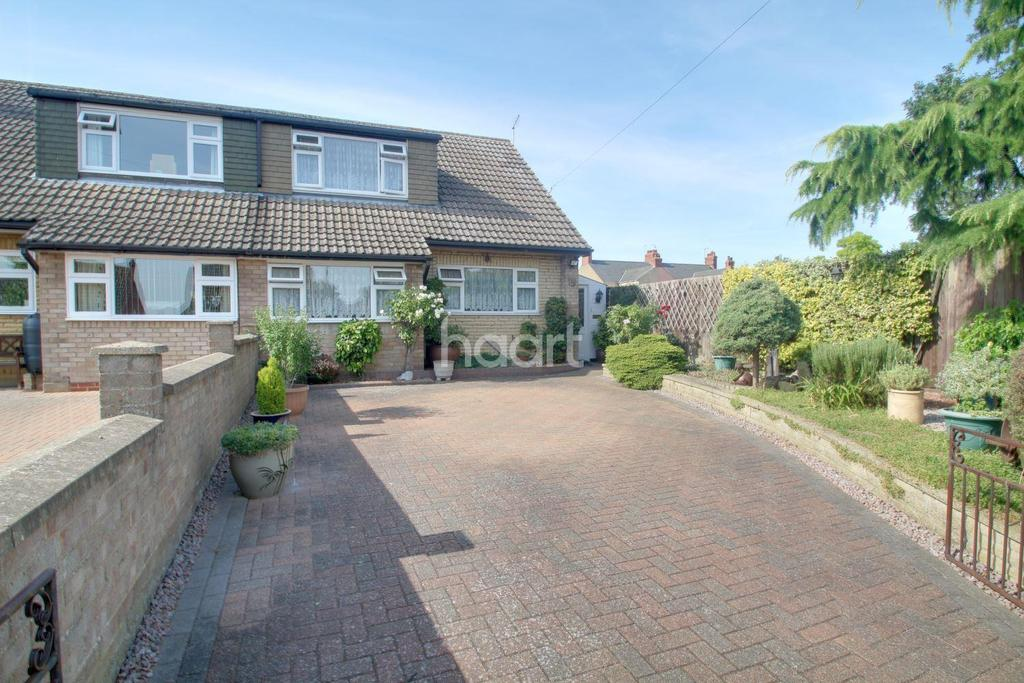 3 Bedrooms Semi Detached House for sale in Back Lane, Eye