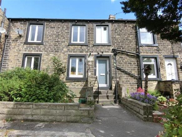 3 Bedrooms Terraced House for sale in Hill Top Road, Paddock, Huddersfield, West Yorkshire, HD1