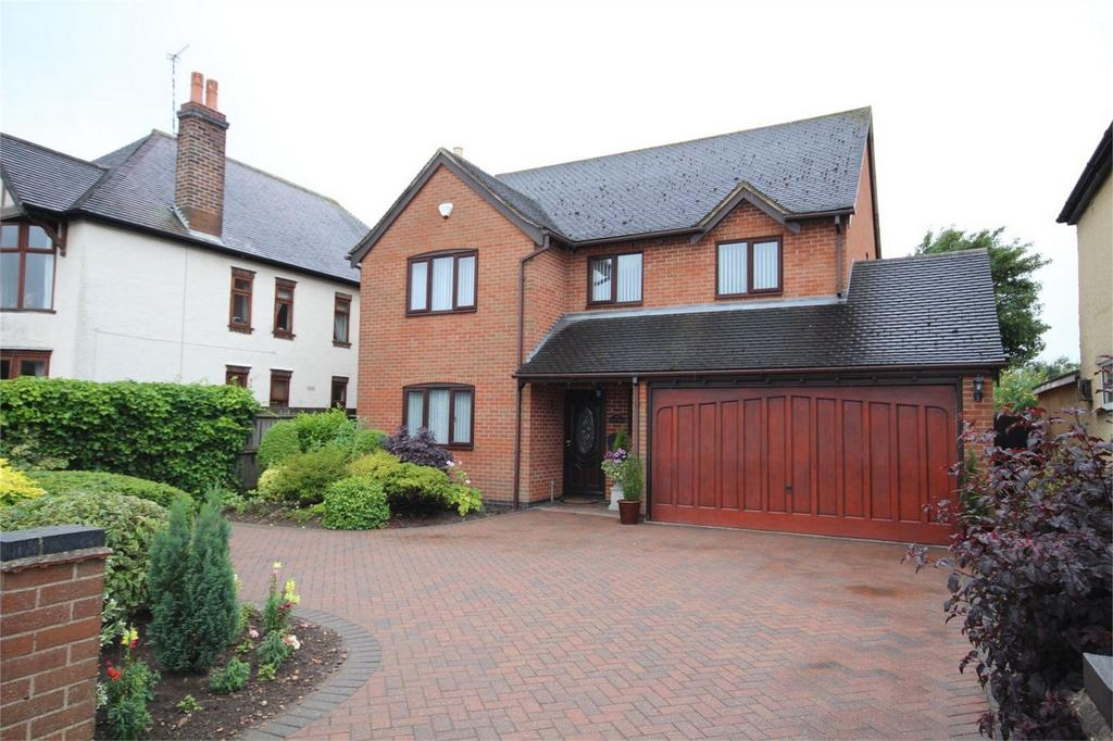 4 Bedrooms Detached House for sale in Rugby Road, Bulkington, Bedworth, Warwickshire