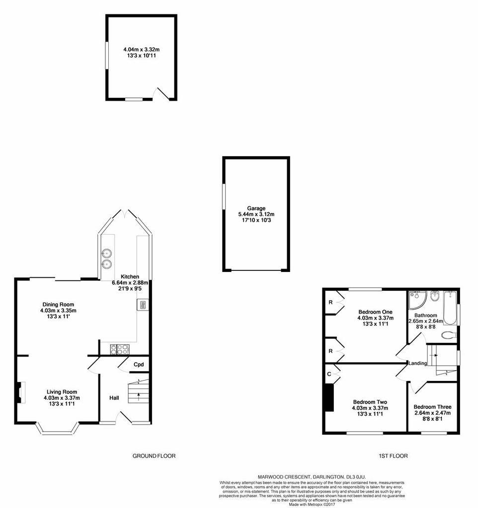 marwood crescent  darlington 3 bed semi-detached house