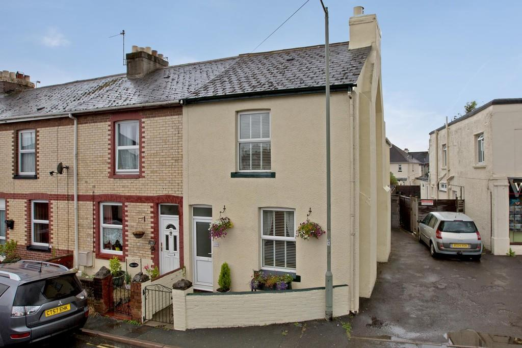 3 Bedrooms End Of Terrace House for sale in Exeter Road, Kingsteignton, TQ12 3HY