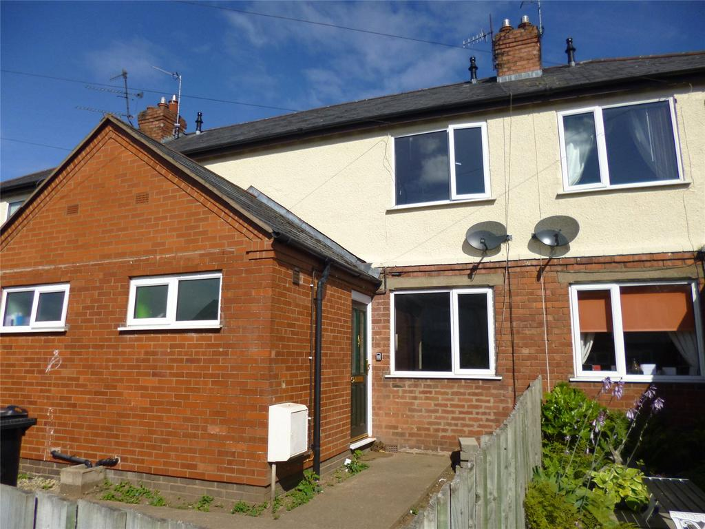 2 Bedrooms Terraced House for sale in Sandpits Avenue, Ludlow, Shropshire