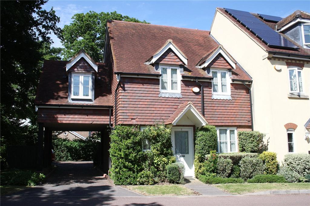 3 Bedrooms End Of Terrace House for sale in Idsworth Down, Petersfield, Hampshire, GU31