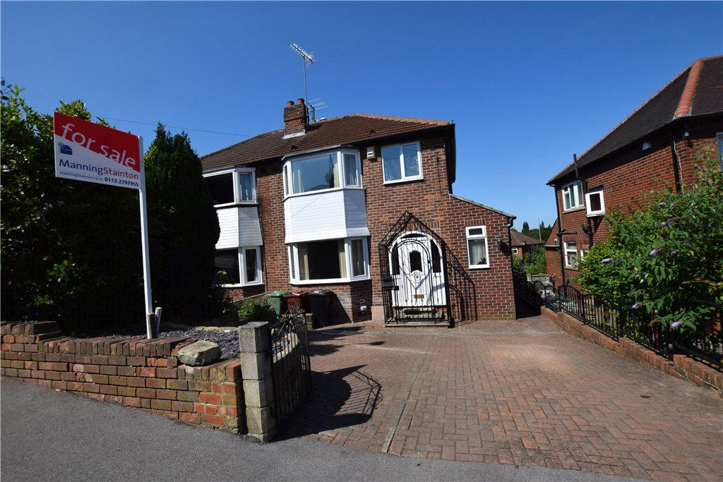 3 Bedrooms Semi Detached House for sale in Armley Grange Avenue, Leeds, West Yorkshire
