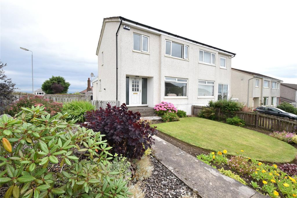 3 Bedrooms Semi Detached House for sale in Flenders Avenue, Clarkston, Glasgow, Lanarkshire