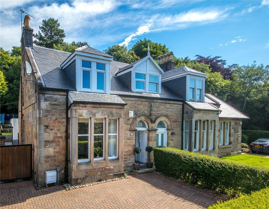 4 Bedrooms Semi Detached House for sale in Drymen Road, Bearsden, Glasgow