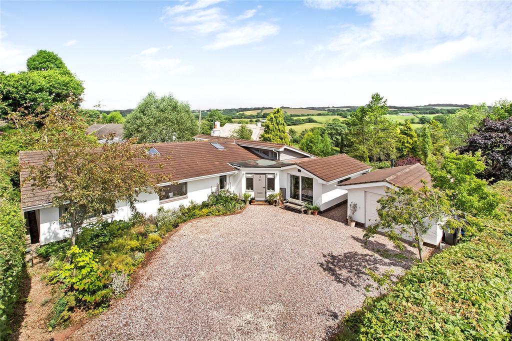 4 Bedrooms Detached Bungalow for sale in Littlewell Park, Doddiscombsleigh, Exeter, Devon