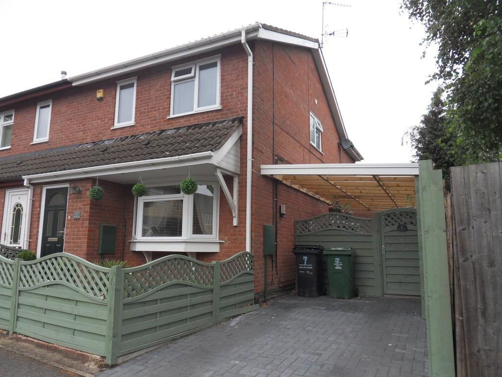 4 Bedrooms Semi Detached House for sale in Seymour Close, Loughborough
