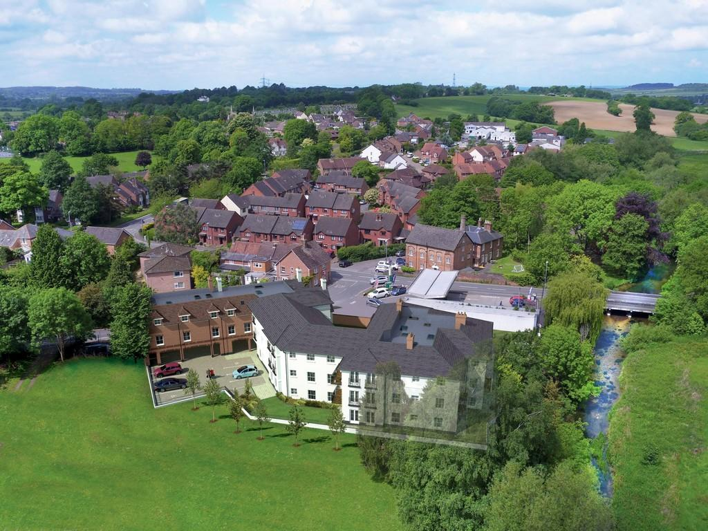 2 Bedrooms Apartment Flat for sale in Walford Bridge, Wimborne