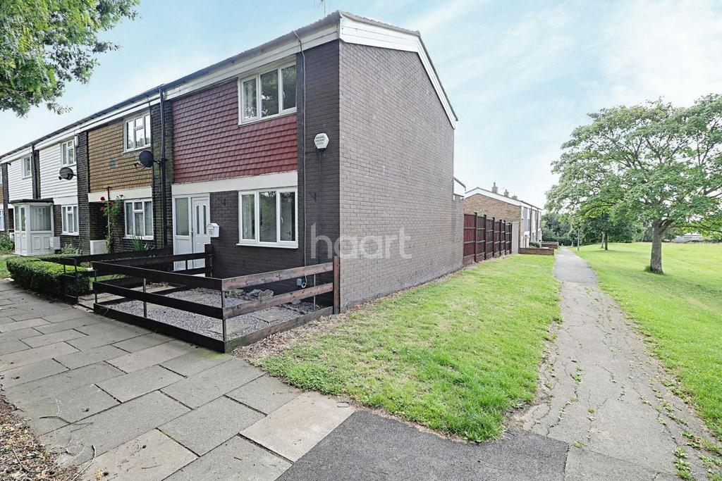 2 Bedrooms End Of Terrace House for sale in Radburn Close, Harlow