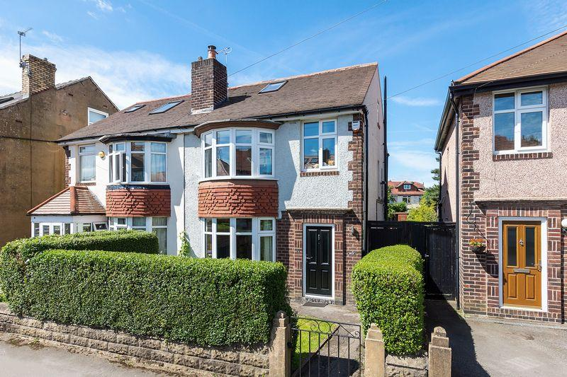 4 Bedrooms Semi Detached House for sale in Headland Road, Crosspool, Sheffield, S10 5FY