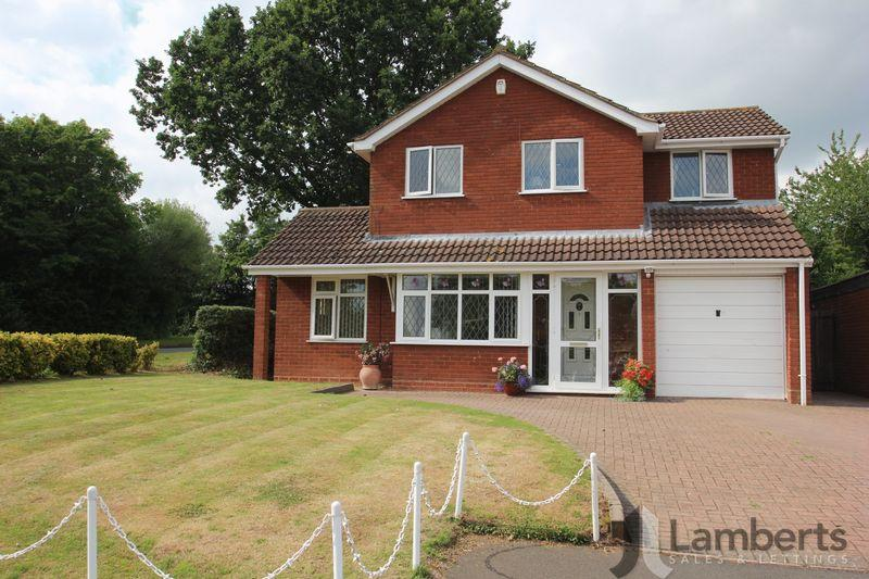 4 Bedrooms Detached House for sale in Jersey Close, Churchill North, Redditch