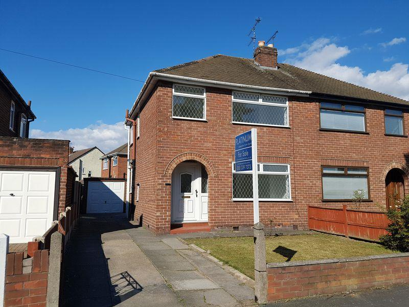 3 Bedrooms Semi Detached House for sale in Overpool Road, Ellesmere Port