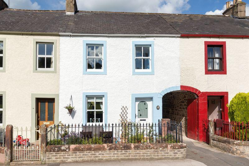 4 Bedrooms Terraced House for sale in 17 Chapel Street, Appleby-In-Westmorland