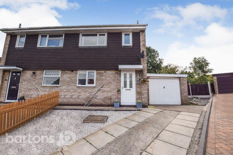 3 Bedrooms Semi Detached House for sale in Merlin Way, Thorpe Hesley, Rotherham