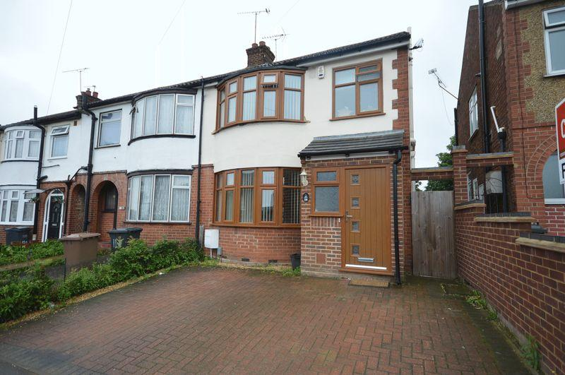 4 Bedrooms End Of Terrace House for sale in Blundell Road, Luton