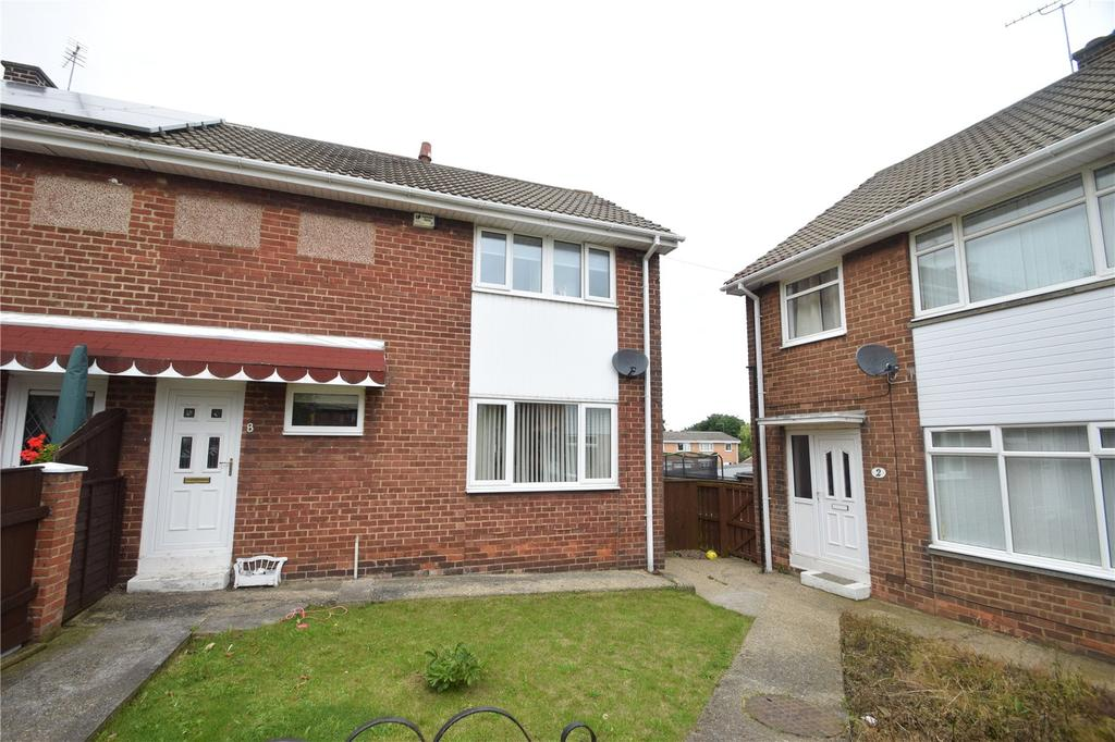 2 Bedrooms Semi Detached House for sale in Neasham Road, Northea, Seaham, Co Durham, SR7