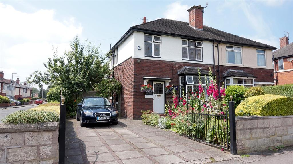3 Bedrooms Semi Detached House for sale in Basford Park Road, May Bank, Newcastle, Staffs