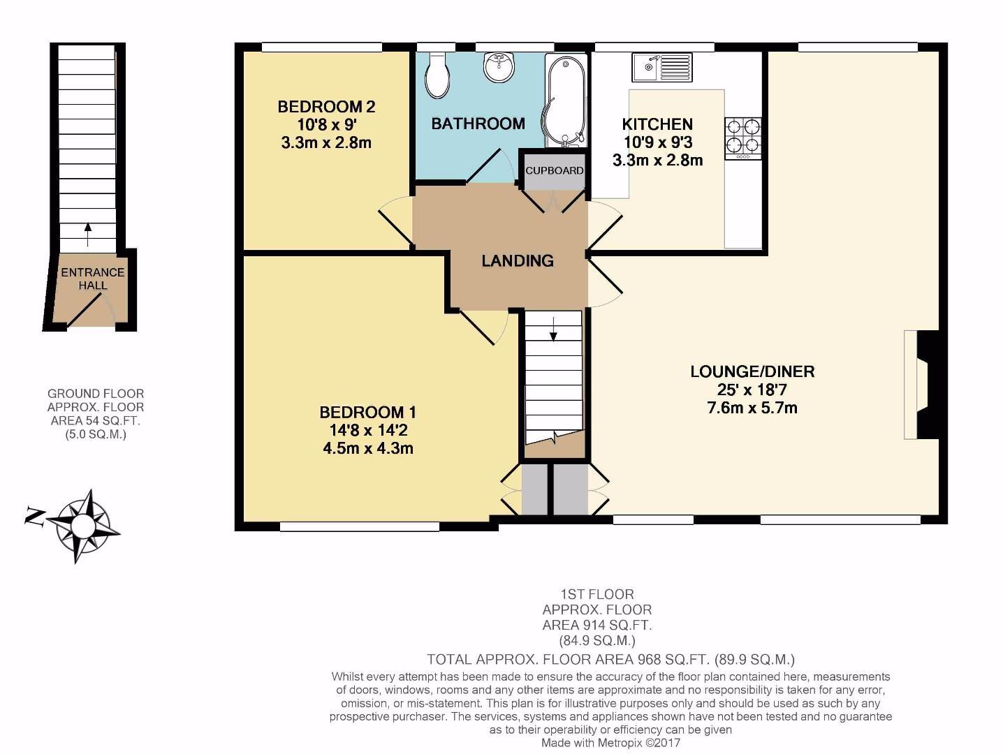 Floorplan: 22 Charmouth Court print.JPG