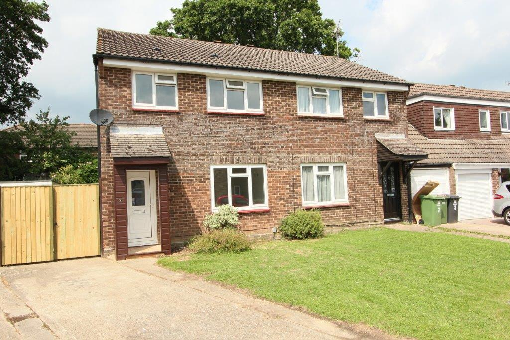 3 Bedrooms Semi Detached House for sale in Willow Close, Hedge End SO30