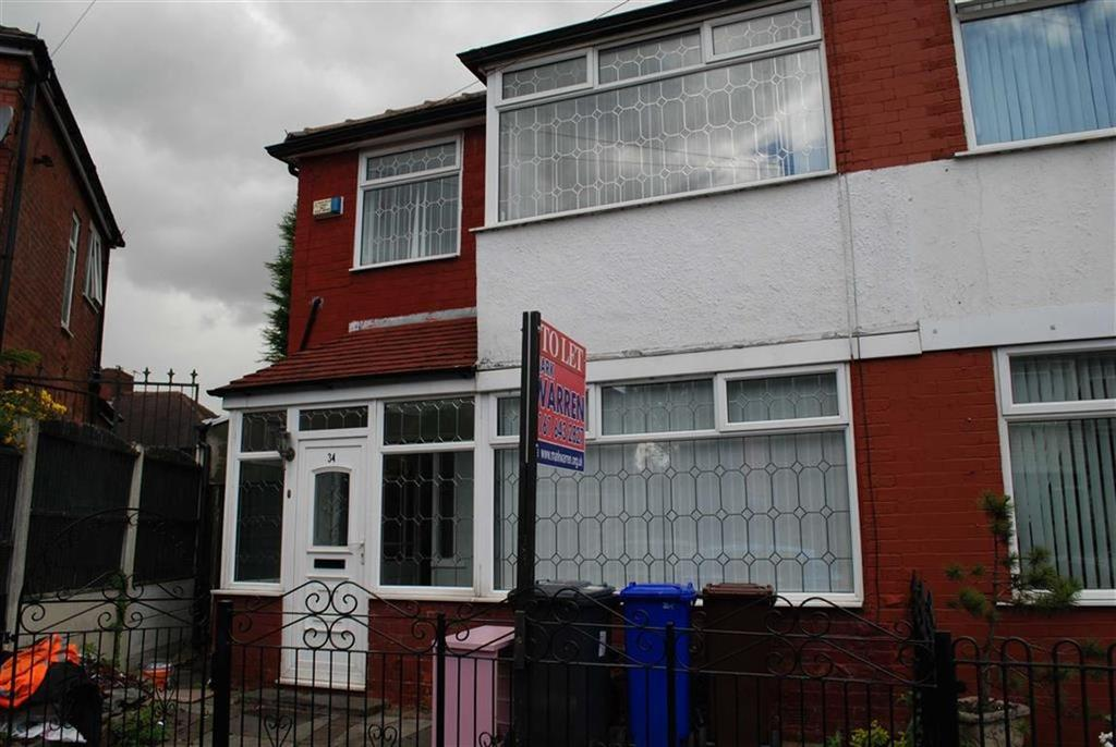 3 Bedrooms Semi Detached House for sale in Bransby Avenue, Higer Blackley, Lancashire