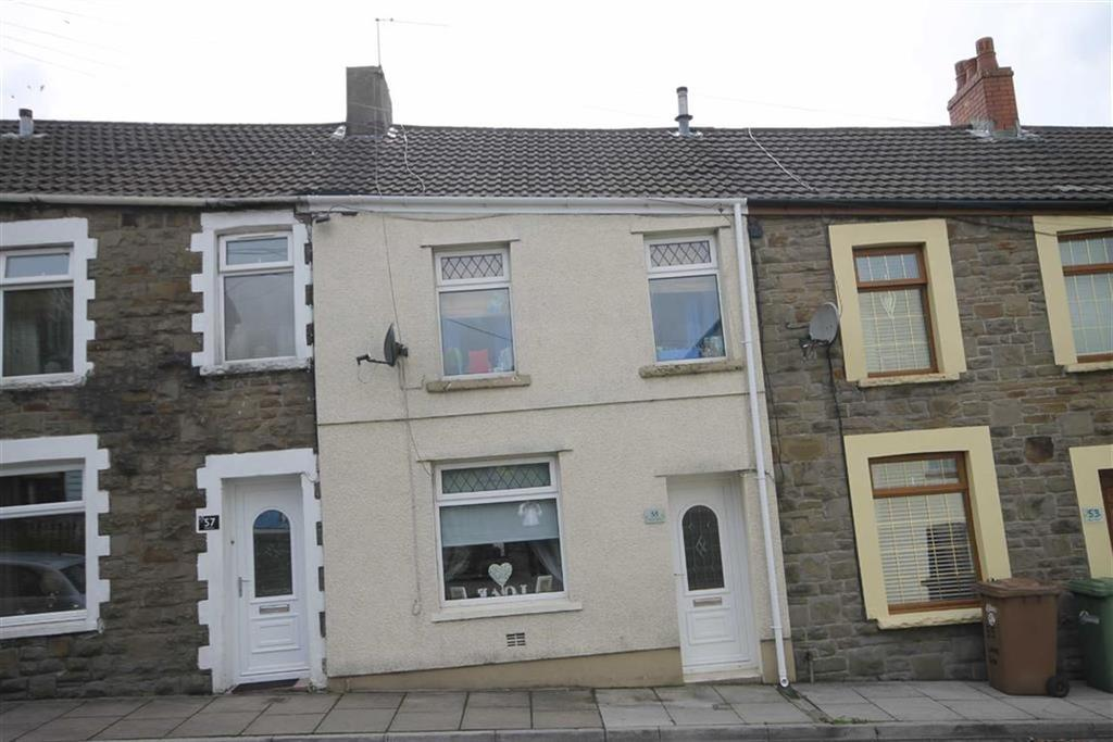2 Bedrooms Terraced House for sale in Heol Fawr, Nelson, Treharris, CF46