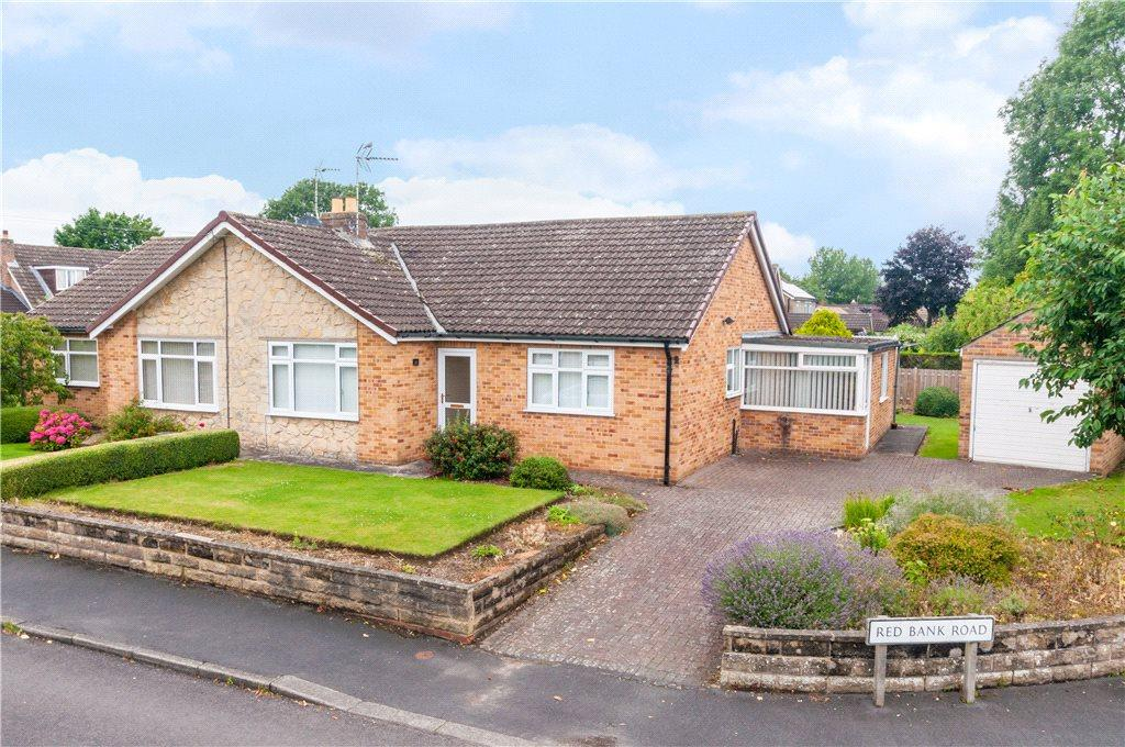 3 Bedrooms Semi Detached Bungalow for sale in Red Bank Road, Ripon, North Yorkshire